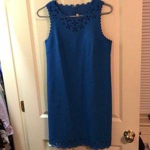 Blue sleeveless J.Crew dress size 4